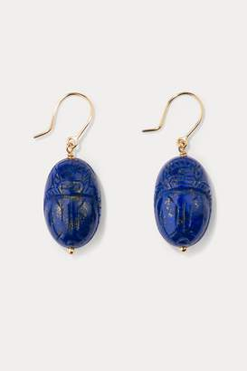Aurelie Bidermann Lapis lazuli earrings