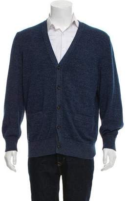 Jack Spade Woven Button-Up Cardigan