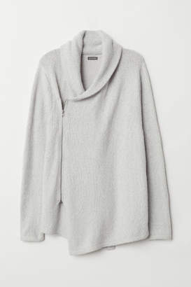 H&M Zipped cardigan - Gray