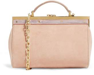 Max Mara Small Box Clutch Bag