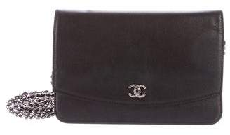 Chanel Sevruga Wallet On Chain