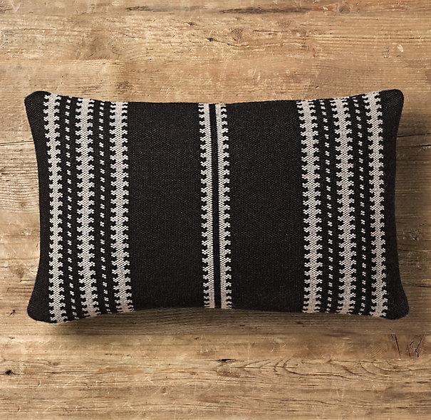 Moroccan Atlas Stripe Lumbar Pillow 4
