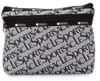 Le Sport Sac Logo-Print Zip Pouch