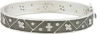 Freida Rothman Industrial Finish Bangle Bracelet