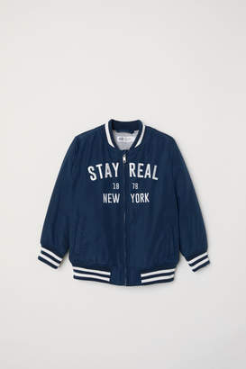 H&M Baseball Jacket - Blue