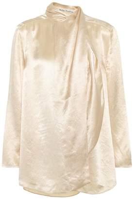 Acne Studios Bodil satin blouse
