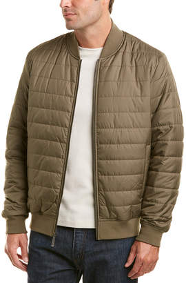 Brooks Brothers Quilted Baseball Bomber Jacket