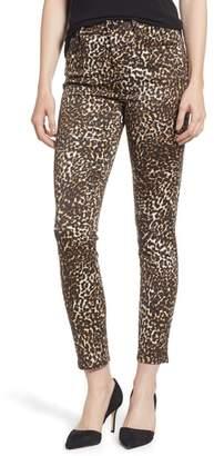 Jen7 Printed Ankle Skinny Jeans