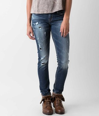 Silver Tuesday Mid-Rise Skinny Stretch Jean $99 thestylecure.com