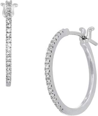 Carriere JEWELRY Medium Diamond Huggies