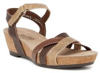 Munro American Eden Strappy Wedge Sandal - Multiple Widths Available