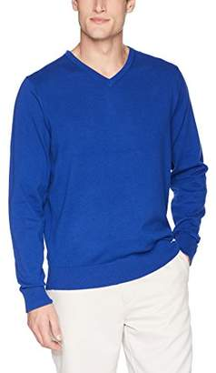 Cutter & Buck Men's Machine Washable Lakemont V-Neck Sweater