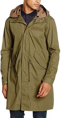 Pretty Green Men's Winchester Long Sleeve Parka Jacket