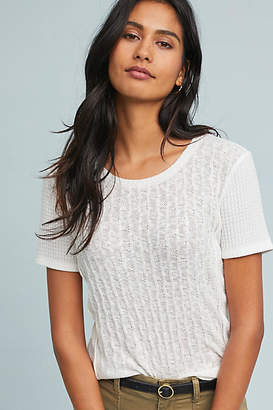 Pure + Good Pointelle Tee