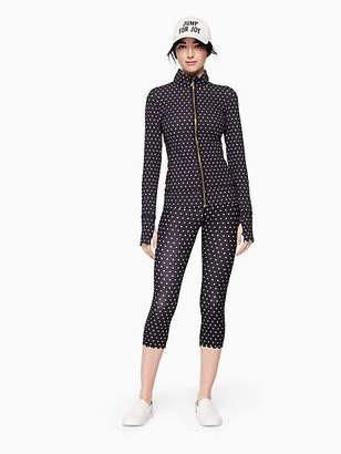 Kate Spade Polka dot scallop jacket