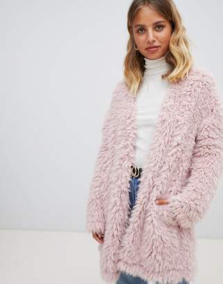 New Look Fluffy Cardigan