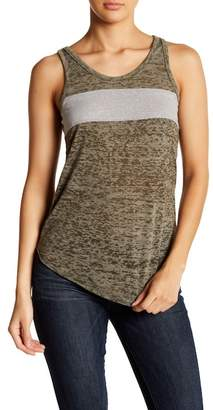 Poof Colorblock Burnout Tank