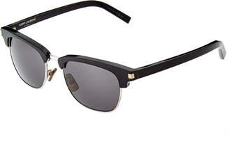 Saint Laurent Unisex Sl 83 Z07/Y1 47Mm Sunglasses