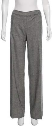 Valentino Wool Wide-Leg Pants