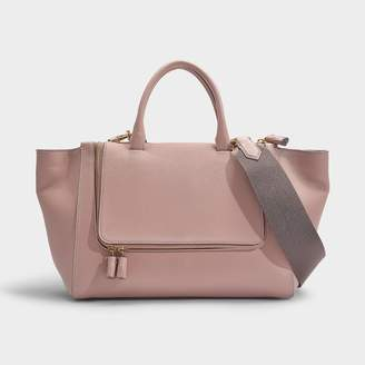 Anya Hindmarch Vere Tote In Lustre Mini Grain Leather