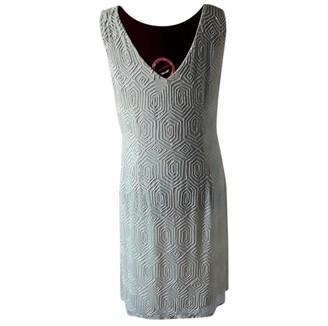 BEIGE Non Signé / Unsigned Non Signe / Unsigned Silk Dress for Women