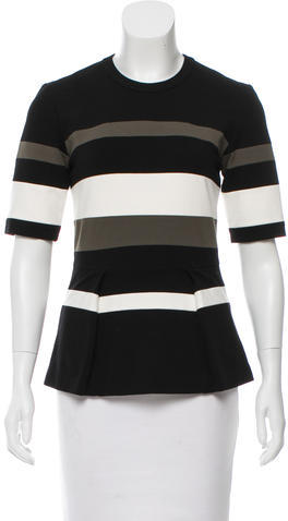 3.1 Phillip Lim 3.1 Phillip Lim Striped Short Sleeve Top