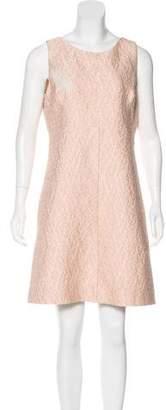 Dolce & Gabbana Jacquard Sheath Dress