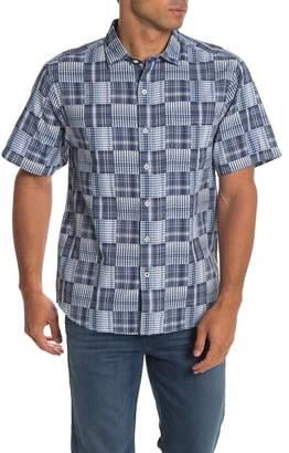 Tommy Bahama Patchwork in Paradise Short Sleeve Shirt