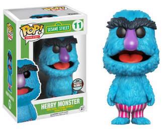 Sesame Street Herry Monster Pop! Vinyl Figure