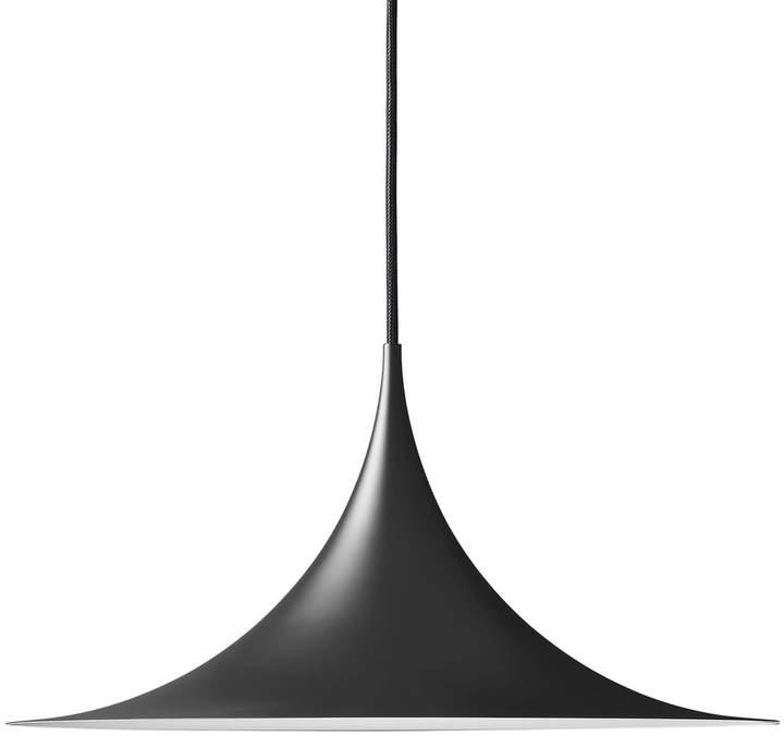 Gubi - Semi Pendelleuchte, Ø 47 cm, Schwarz
