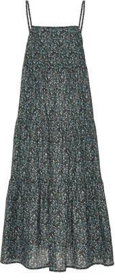 Matteau Floral-Print Cotton-Poplin Maxi Dress Size: 2