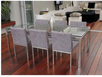 Reflective 80cm x 150cm Dining Table