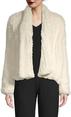 Bagatelle Faux Fur Long Sleeve Jacket