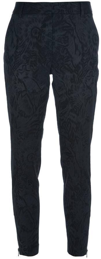 Paul & Joe patterned slim trouser