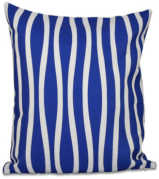 E By Design 16 Inch Decorative Striped Throw Pillow