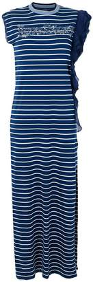Pinko long striped dress