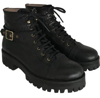 Moschino Cheap & Chic Moschino Cheap And Chic Black Leather Boots