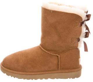 UGG Australia Bailey Bow II Boots $125 thestylecure.com