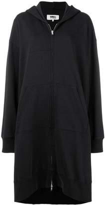 MM6 MAISON MARGIELA draped hoodie-style coat