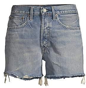 Polo Ralph Lauren Women's Sprighton Legend Wash Cut Off Boyfriend Shorts
