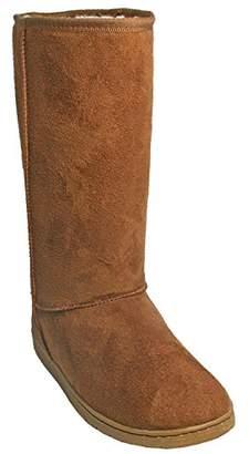 Dawgs Womens 13 Inch Microfiber Faux Shearling Vegan Boots (
