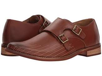 Deer Stags Cyprus Perf Monk Strap