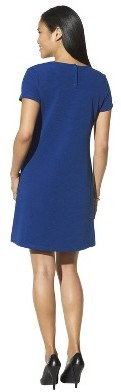 Merona Women's Textured Cap Sleeve Shift Dress - Assorted Colors