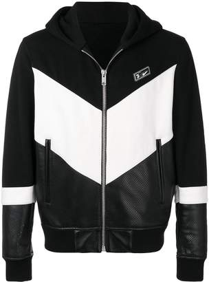 Givenchy hooded leather jacket