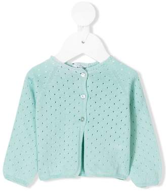 Knot Pointelle cardigan