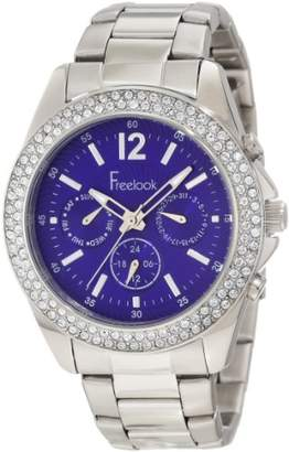 Freelook Women's HA6305-6 Swarovski Crystal-Accented Stainless Steel Bracelet Watch