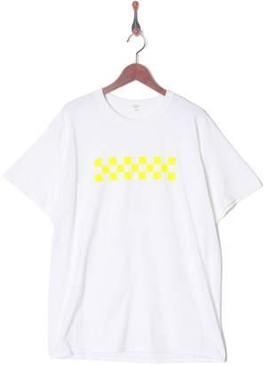 Nano・universe (ナノ ユニバース) - Nano・Universe Men On Season イエロー CHECKER TシャツSS