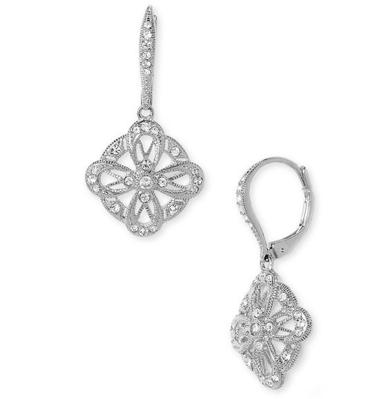 Nadri 'Euro' Crystal Earrings