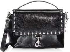 Rebecca Minkoff Blythe Distressed Leather Crossbody Bag