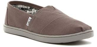 Toms Classic Canvas Slip-On Shoe (Little Kid)